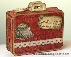 Layers of ink: Thank You Suitcase