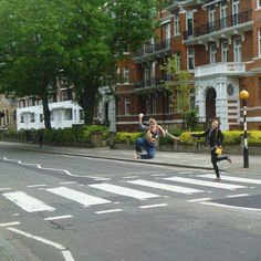 """DAY 8: Study Abroad Photo of the Day! You'll probably recognize this place in London made famous by #TheBeatles. If you want to take your own Abbey Road picture (maybe even with a girl named Abby like @agunoe here) make England your goal! I can help.  Ebook coming soon: """"So You Think You're Too Poor to Study Abroad"""" #29DaysofStudyAbroad #London #England #AbbeyRoad #AbbeyRoad #AdventureisOutThere #GoGetIt #studyabroad by mariahproctor"""