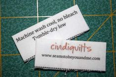 I need to make these for my quilts.