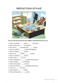 prepositions worksheet1 esl efl worksheets grade 1 worksheets preposition worksheets. Black Bedroom Furniture Sets. Home Design Ideas