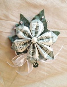 money boutonniere - Google Search