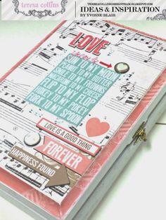 TERESA COLLINS DESIGN TEAM: Cigar Box Mini Album By Yvonne @Yvonne Blair