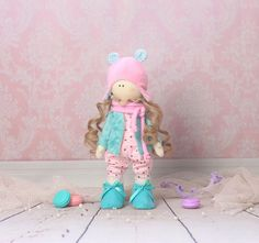 Art doll Adalyn  OOAK  ready to ship by MiracleInspiration on Etsy