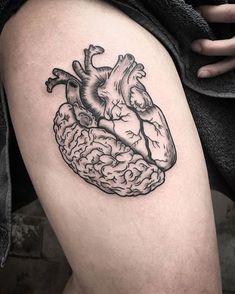 Tattoos And Body Art heart tattoo Hair Tattoos, Leg Tattoos, Body Art Tattoos, Sleeve Tattoos, Tatoos, Trendy Tattoos, Small Tattoos, Cool Tattoos, Medusa Tattoo