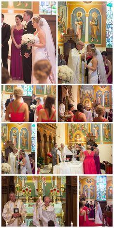 Tonya + Bobby Marriage Greek Orthodox Church Wedding | Annunciation Greek Orthodox Church | Winston-Salem Wedding Photographer | A Photo by Ashley
