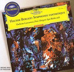 BERLIOZ Symphonie Fantastique - Markevitch - Deutsche Grammophon
