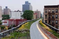 the second part of New York's High Line, an elevated garden built on an abandoned railroad track, with gardens designed by Piet Oudolf and landscape architecture by James Corner. The second part of the High Line opened June 8, 2011, bringing the completed garden to a mile long, with a third part to open in the future.    from garden design magazine