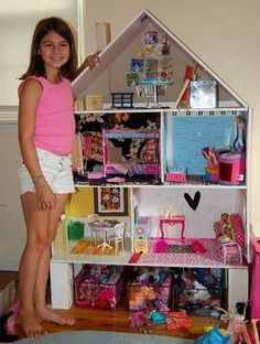 Creative, Inexpensive Ideas To Make, Decorate A Dollhouse
