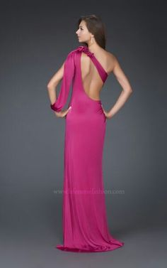 Vestidos de fiesta color rosa fiusha