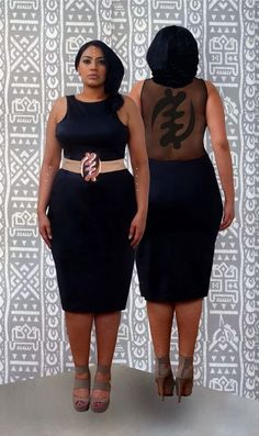 """Check-out the new collection titled Adinkra 2.0 by the New York based label Rue 114. Designs by Rue 114 are for women """"who believethat every shape and size should be celebrated as beautiful."""" Thus the brand offers pieces from size 2 up to 24. I have always loved the Adinkra symbols and their meaning. Gye…"""