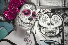 Día de los Muertos Part 2 VIBRANT COLOR by Kenneth Shinabery, via Behance