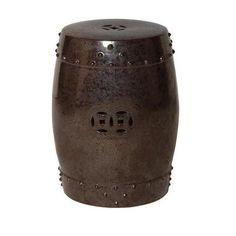 Drum Stool, Gunmetal