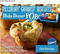 Grands!® mini chicken pot pies indianheadprimefavor.tk recipe. Learn how to cook great Grands!® mini chicken pot pies indianheadprimefavor.tk indianheadprimefavor.tk deliver fine selection of quality Grands!® mini chicken pot pies indianheadprimefavor.tk recipes equipped with ratings, reviews and mixing tips.