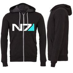 N7 Zipper Hoodie