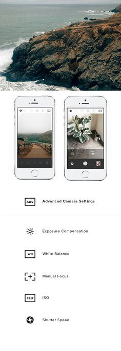 How to use the advanced camera controls in VSCO Cam.