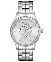 Caravelle by Bulova Watch, Women's Stainless Steel Bracelet 32mm 43L151