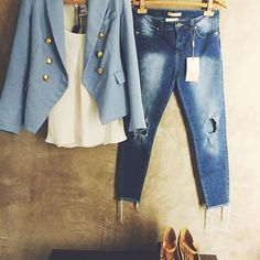 All blue!  #jeans #stmoritzstore #fashion #welove