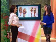 """Juliana Ariza dá dicas e comenta looks para """"gordinhas"""". Programa Mulheres 04/07/2013."""