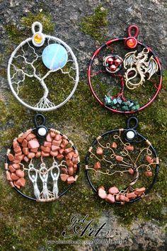 Custom set of pendants