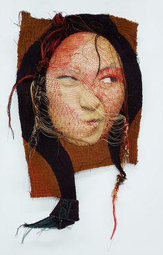 Rag face #16015-1. Yoon Ji Seon