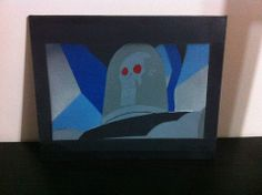 Mr. Freeze. Batman TAS. Stencil
