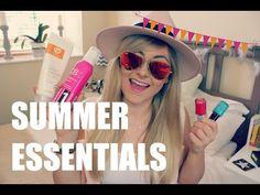 ♡ Summer Essentials | 2015 ♡ - YouTube