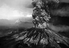 Mt St. Helens 1980 eruption