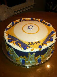 High school wrestling cake