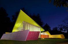 Maison Plastique on Shelter Island, New York by Stamberg Aferiat Architecure