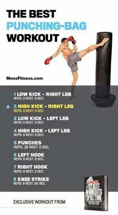 Improve your Muay Thai workouts with better training routines and drills. List of Muay Thai exercises to take your fighting to the next level Best Punching Bag, Punching Bag Workout, Boxing Punching Bag, Training Fitness, Boxing Training, Boxing Boxing, Boxing At Home, Muay Thai Training Workouts, Easy Workouts