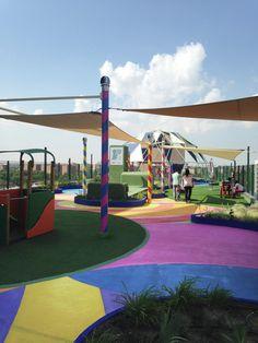Garden and Playspace,© Fundación Juegaterapia