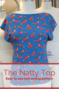 Introducing my new PDF sewing pattern: The Natty Top FREE!!!