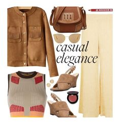 Casual by beebeely-look on Polyvore featuring adidas Originals, Topshop, Magdalena Frackowiak, Mykita, Bobbi Brown Cosmetics, Spring, casual, casualfriday, springfashion and twinkledeals
