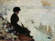 15. Giuseppe de Nittis (1846-1884)  Snow Effects, 1880  Oil on canvas - 53 X 72 cm  Barletta, Pinacoteca Giuseppe De Nittis  Photo: All rights reserved