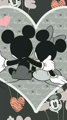 Wallpaper Iphone Disney Mickey Phone Wallpapers Minnie Mouse 43 Ideas For 2020 Arte Do Mickey Mouse, Mickey And Minnie Love, Mickey Mouse And Friends, Disney Mickey, Disney Art, Disney Ideas, Disney Magic, Mickey Mouse Wallpaper Iphone, Cute Disney Wallpaper