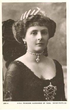 Princess Alexander of Teck.
