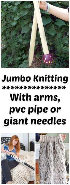 15 Trendy Ideas For Crochet For Beginners Blanket Chunky Arm Knitting - DIY Knitting Chunky Knitting Patterns, Arm Knitting, Knitting Ideas, Diy Jumbo Knitting Needles, Crochet Patterns, Knitting Stitches, Beginner Knitting Projects, Knitting For Beginners, Where To Buy Yarn
