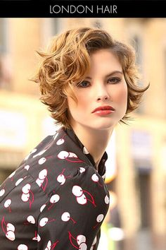 Soft Short Hairstyle with Gentle Waves