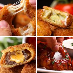 Eat Stop Eat To Loss Weight - Ultimate Onion Rings 4 Ways - In Just One Day This Simple Strategy Frees You From Complicated Diet Rules - And Eliminates Rebound Weight Gain Tasty Videos, Food Videos, Appetisers, Finger Food, Food Hacks, Appetizer Recipes, Quiche Recipes, Love Food, Food To Make