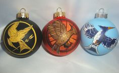 hunger games ornament mocking jay pin inspired