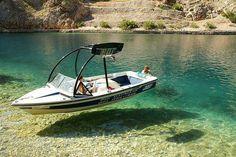 Halkidiki, Greece  Water so clear, it looks like air