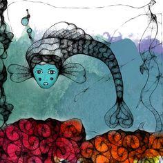 mermaid by karen brunat