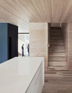 Image 5 of 19 from gallery of Haus Fontanella / Bernardo Bader Architects. Photograph by Albrecht Imanuel Schnabel Wood Architecture, Contemporary Architecture, Architecture Details, Bernardo Bader, Zara Home, Wood Interiors, House Interiors, Architectural Features, Minimal Design