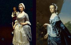 Mercy Otis Warren (1728-1814), the woman who gave us the Bill of Rights.