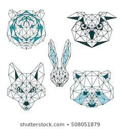 86c803a38 31 Best Hilos images   Geometric drawing, Cubism, Polygon art