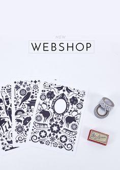 New webshop! :) #grandstoriesdesign #illustration #stationery #paperlove #webshop #newwebshop #papershop #fairytale #card #print #paperdesign #pattern  #grandstoriesblog