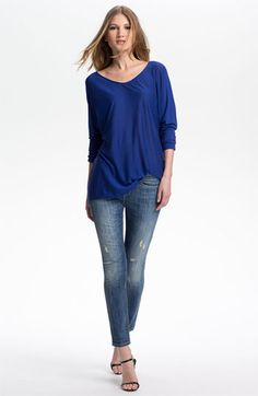 Vince Top & Skinny Jeans  available at #Nordstrom