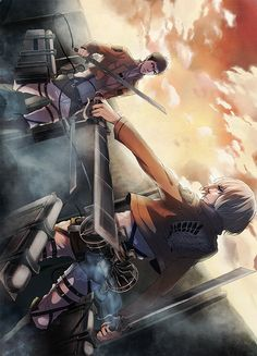 Attack on Titan (Shingeki no Kyojin) - Jean Kirstein & Armin Arlert -