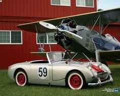British Sports Cars, Classic Sports Cars, Classic Cars, Weird Cars, Crazy Cars, Hobby Cars, Austin Healey Sprite, Mg Midget, Triumph Spitfire