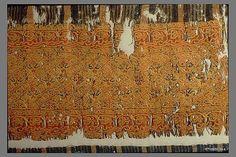 Fragment Date: 12th century Geography: Egypt Culture: Islamic Medium: Linen, silk; plain weave, tapestry weave